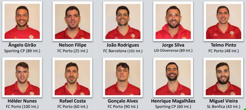 Equipe masculine de rink hockey du Portugal