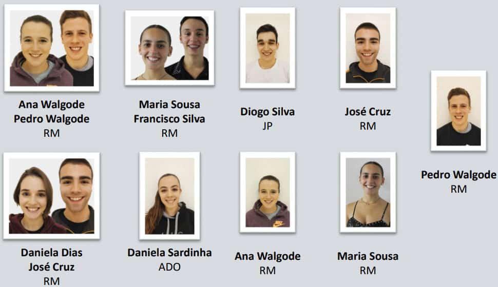 La sélection senior de roller artistique du Portugal pour les WRG 2019