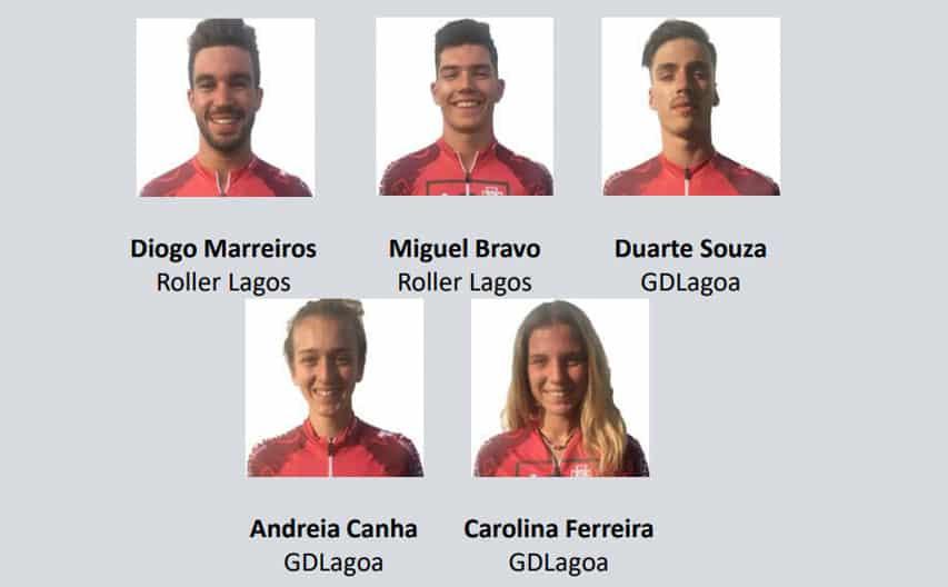 Equipe nationale senior de roller course du Portugal 2019