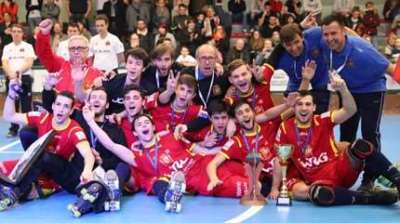 espagne vainqueur coupe latine rink hockey 2018 small
