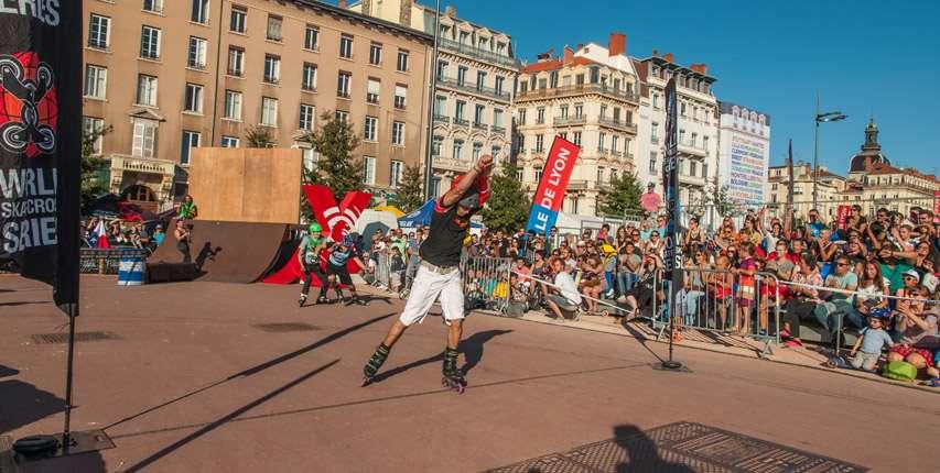 World Skate Cross Series à Lyon