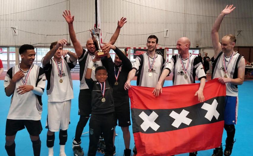 Les Néerlandais, vainqueurs du tournoi