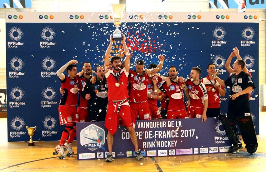 SCRA Saint-Omer - vainqueur de la Coupe de France rink hockey 2017