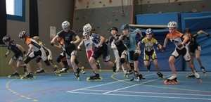 france indoor roller course 2017 starting blocks