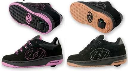 Test des chaussures à roulettes Heelys