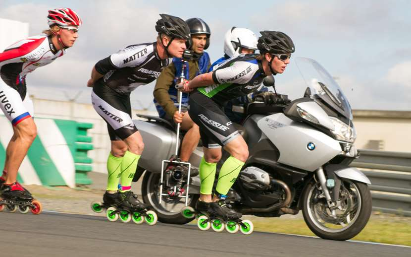 Matthias Knoll et Scott Arlidge aux 24H du Mans 2012 pour Powerslide