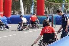 hockey fauteuil marathon roller dijon