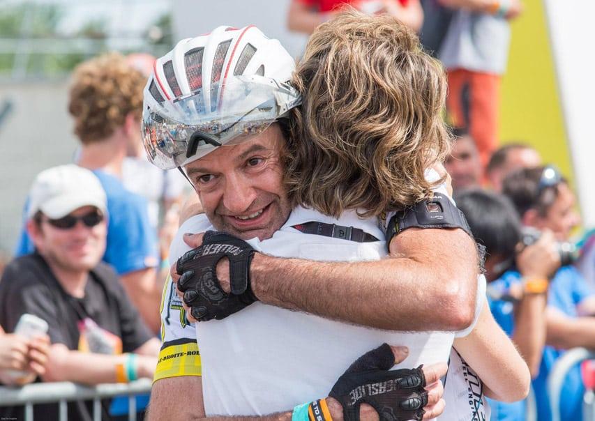 Claude Viltard aux 24 Heures du Mans Roller 2015