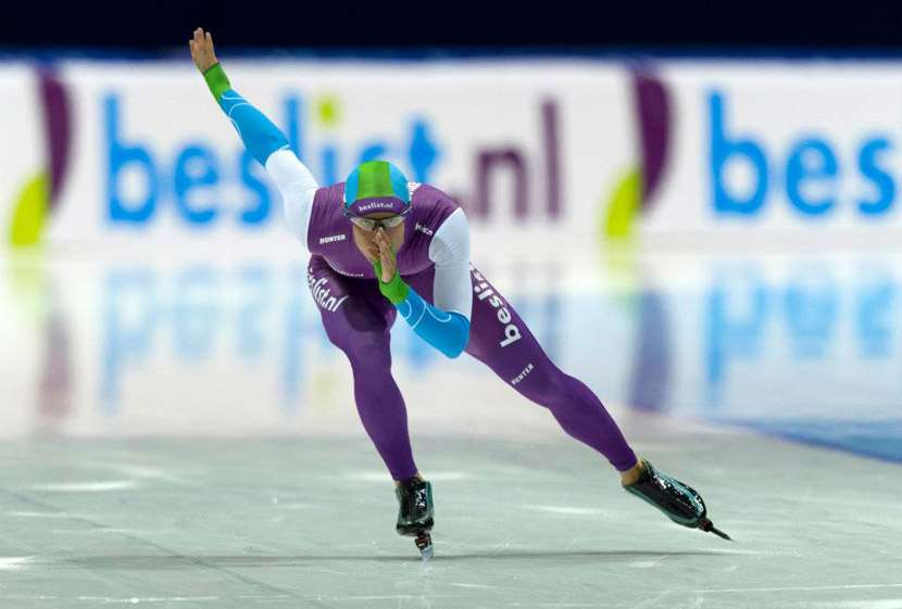 Michel Mulder - Ice skating