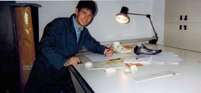 Sergio McCargo in 2000