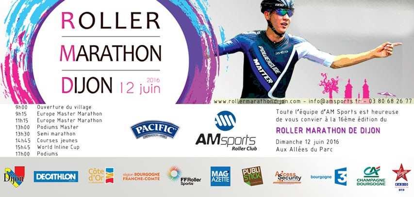 invitation marathon roller dijon 2016