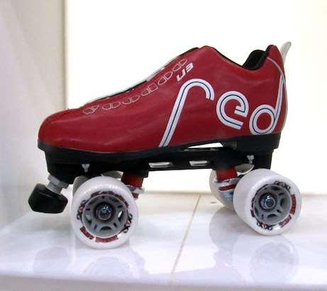 Un modèle de la marque Roller Derby