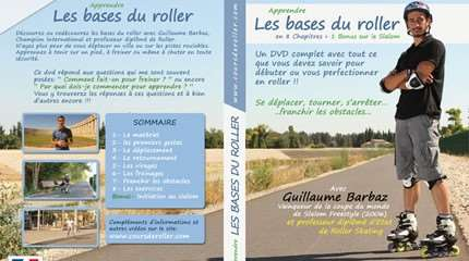 jaquette DVD apprendre roller small