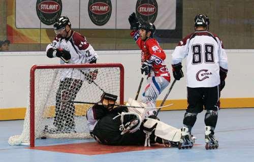 Première journée de compétition roller-hockey aux Jeux Mondiaux 2013
