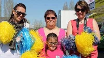 les pom pom girls en folie 6h roller touraine 2015
