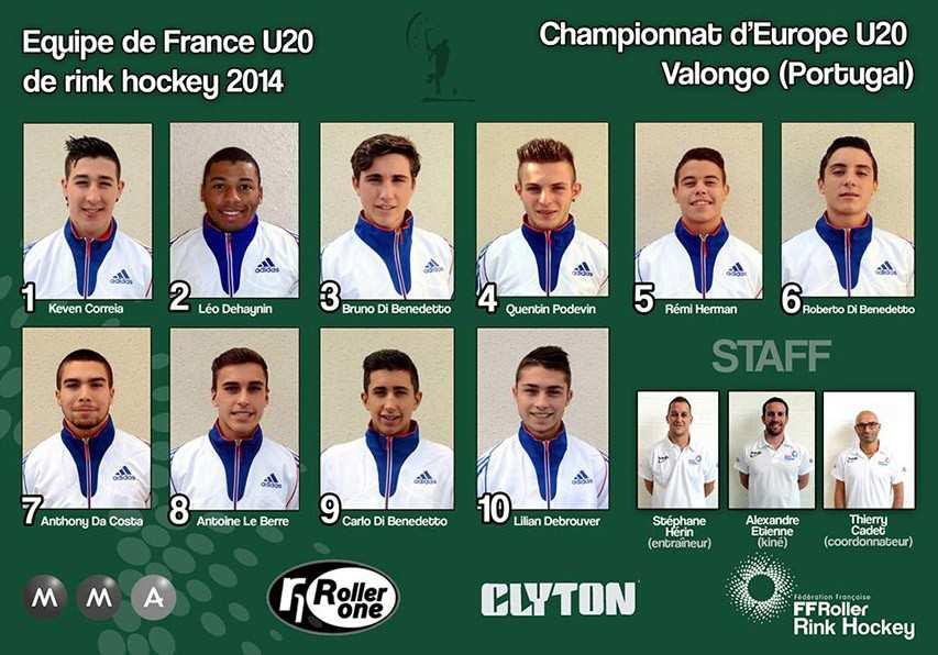 Equipe France U20 rink hockey