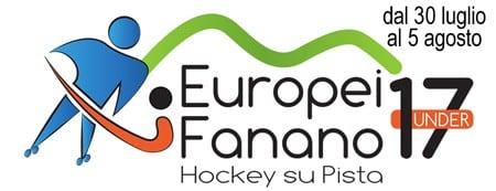 Logo Championnat Europe U17 rink hockey 2017