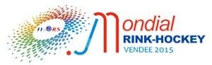 Logo du championnat du monde de rink hockey 2015