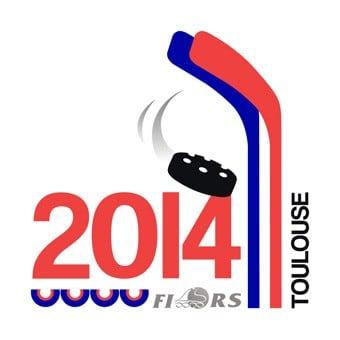 Logo du mondial de roller-hockey 2014