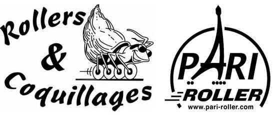 logos rollers et coquillages pari roller