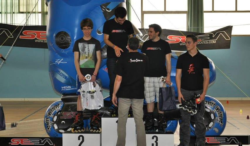 Lyon Roller Slalom Contest 2014