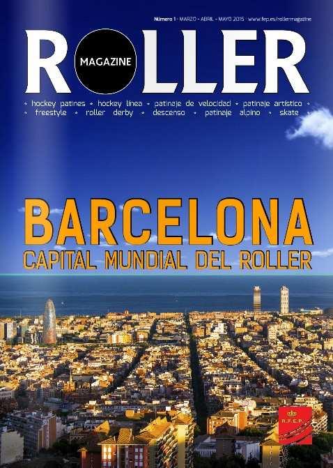 magazine roller federation espagnole avril 2015