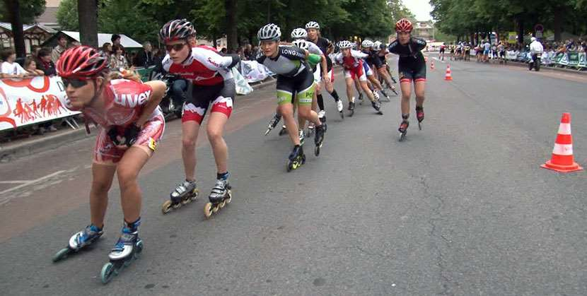 Le peloton féminin à Dijon