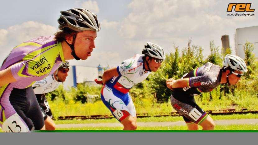 Marathon roller de Compiègne 2013 - peloton masculin