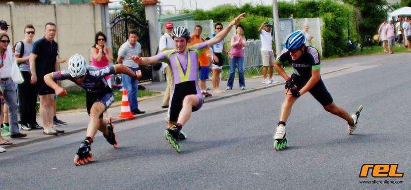 Le sprint d'arrivée du Marathon de Compiègne 2013