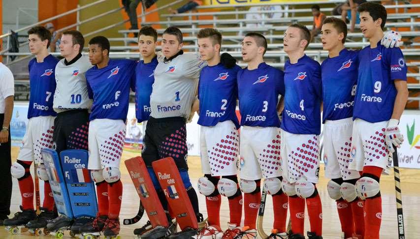 L'équipe de France des moins de 20 ans