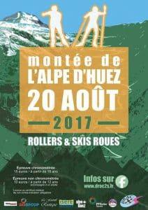 Montée de l'Alpe d'Huez 2017 en roller et rollerski (38) @  | Bourg-d'Oisans |  |