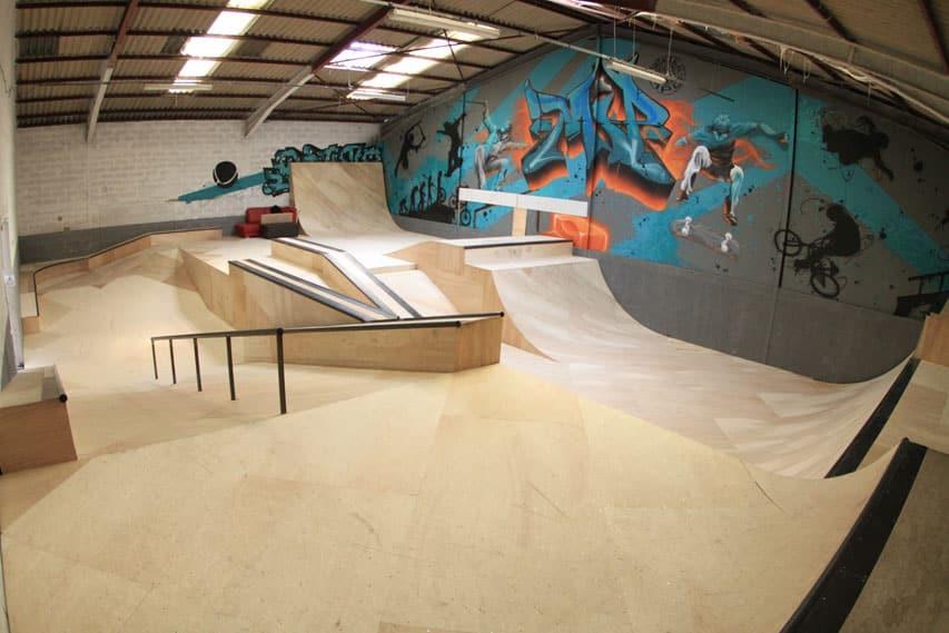 La salle principale du Montpellier Indoor Park