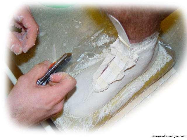 Fabrication chaussure roller vitesse sur mesure