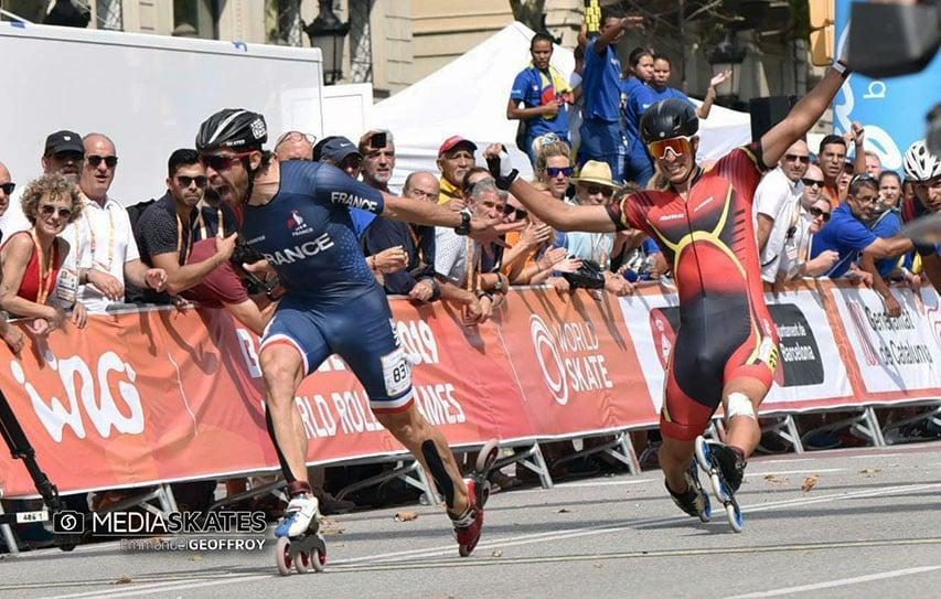 nolan champion monde marathon roller wrg 2019