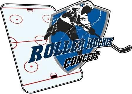 nouveau logo roller hockey concept