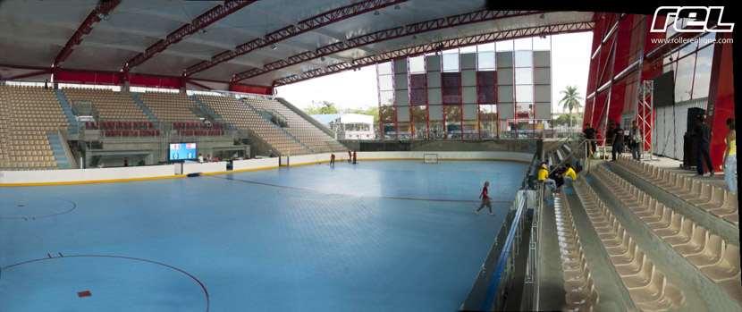 La toute nouvelle arène de hockey à Cali (Colombie)