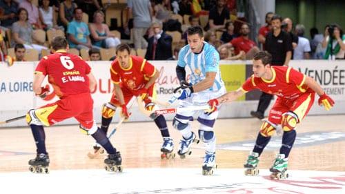 Argentine Espagne Championnat monde rink hockey 2015