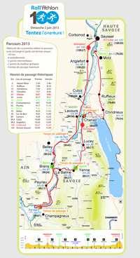 Le parcours du Roll'Athlon 100