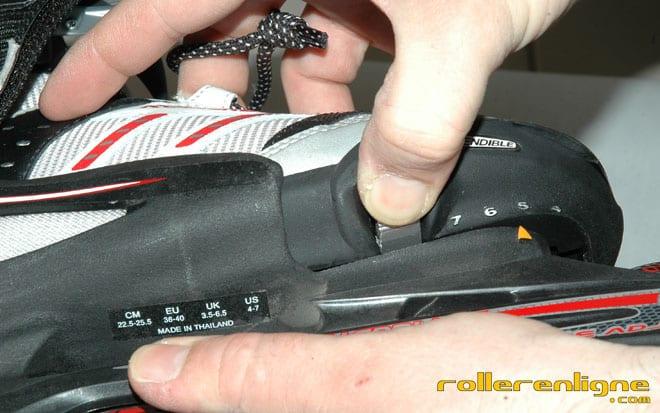 Test du rollerblade Micro Combo