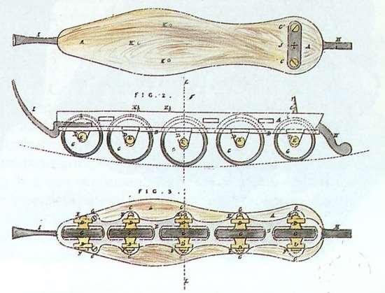 Patin de Tyers de 1823