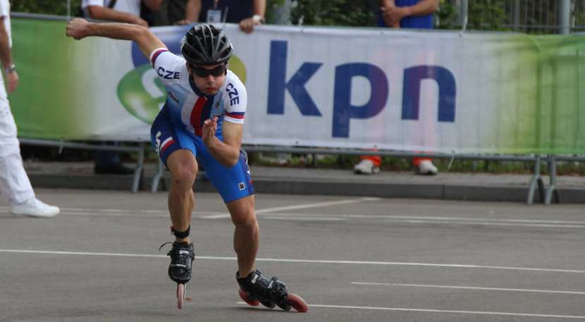 Le patineur de le République Tchèque
