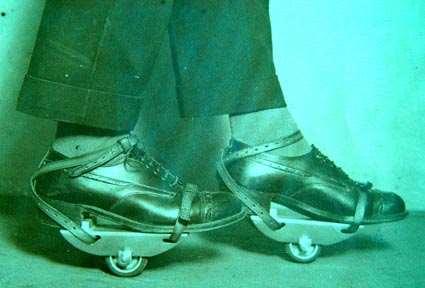 Un patin du milieu du XXème siècle