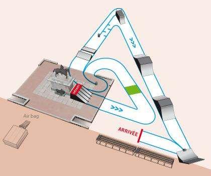 Plan de l'air de skatecross à Lyon
