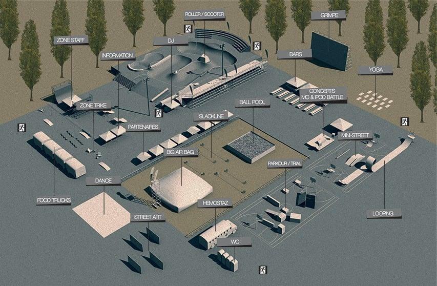 plan site lausanne urban festival 2018