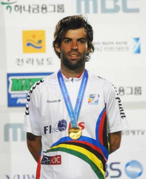 Yann Guyader, champion du Monde