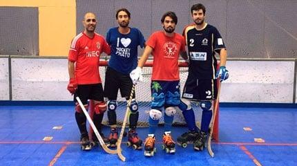 premiere fois equipe rink hockey club nice small