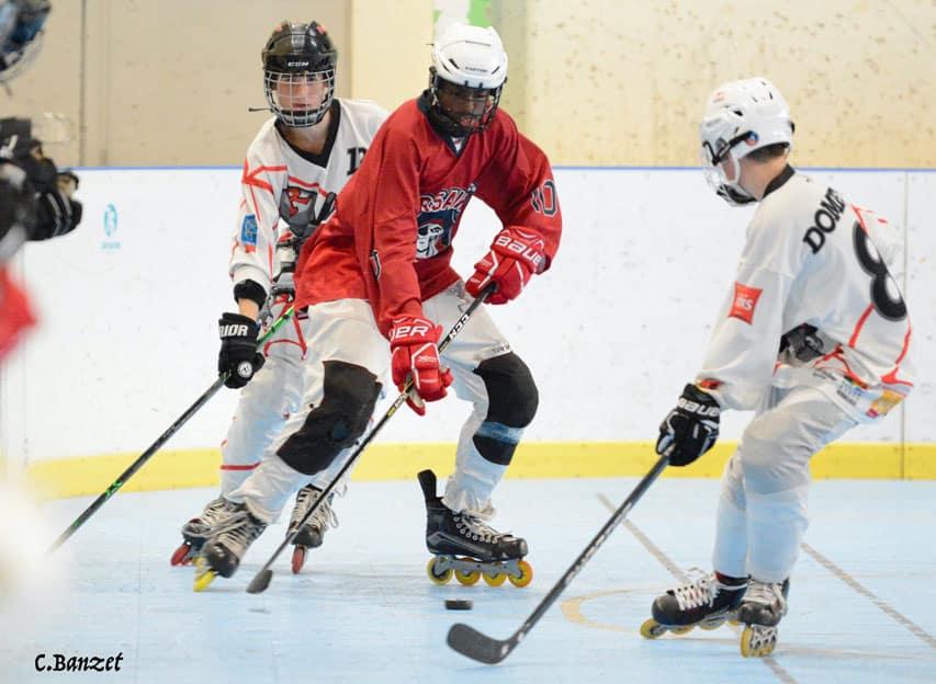 Match de roller hockey avec les Corsaires de Paris
