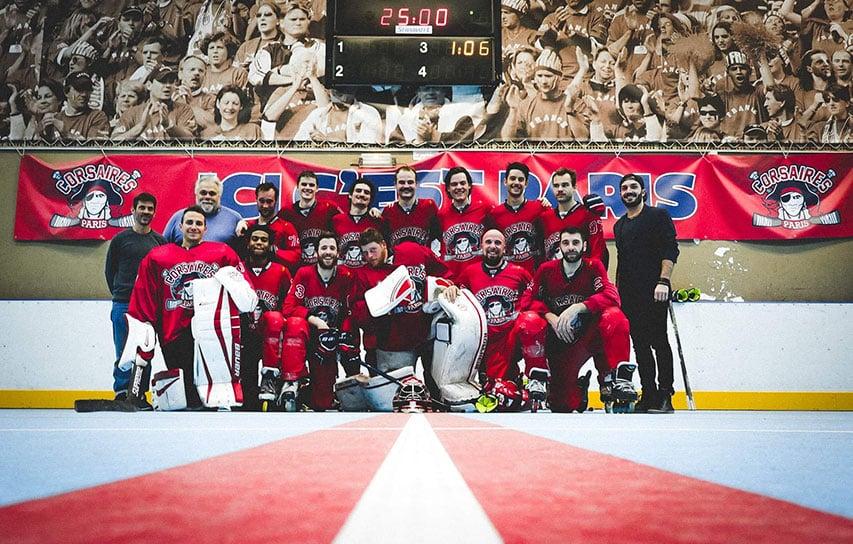 L'équipe Elite des Corsaires de Paris XIII