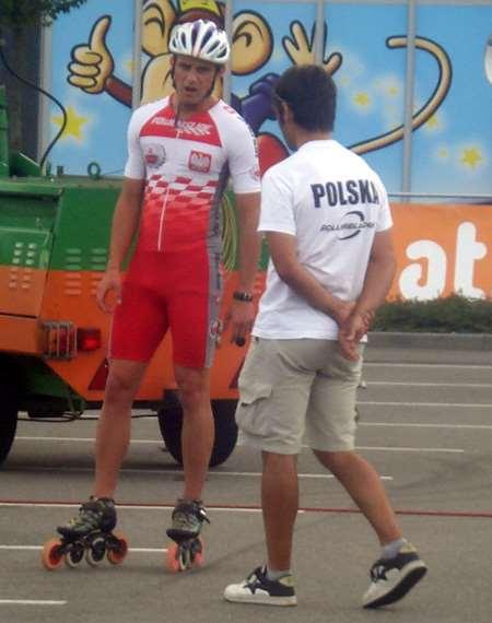L'équipe Polonaise aux championnats d'Europe 2011
