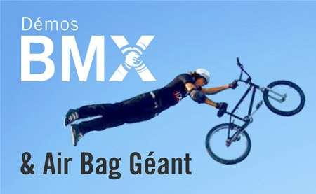 Épreuve de BMX